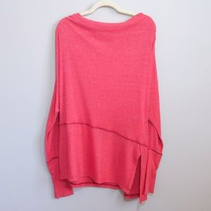WE THE FREE by FP Red Orange Oversized Tunic | M
